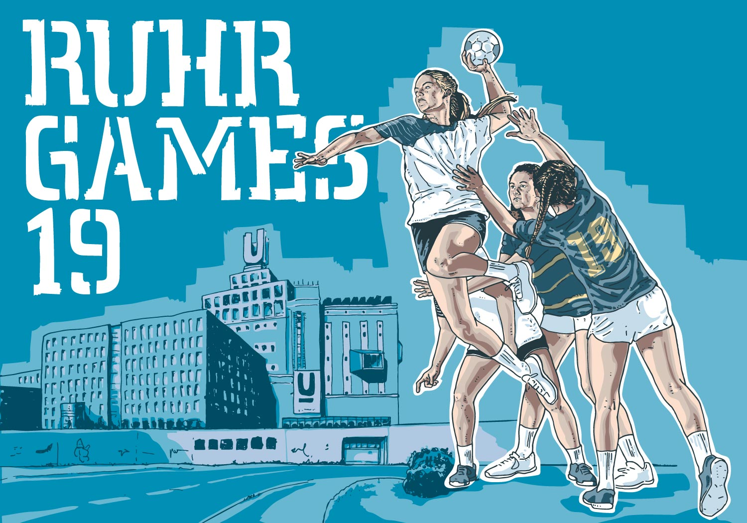Ruhr Games 19, Handball