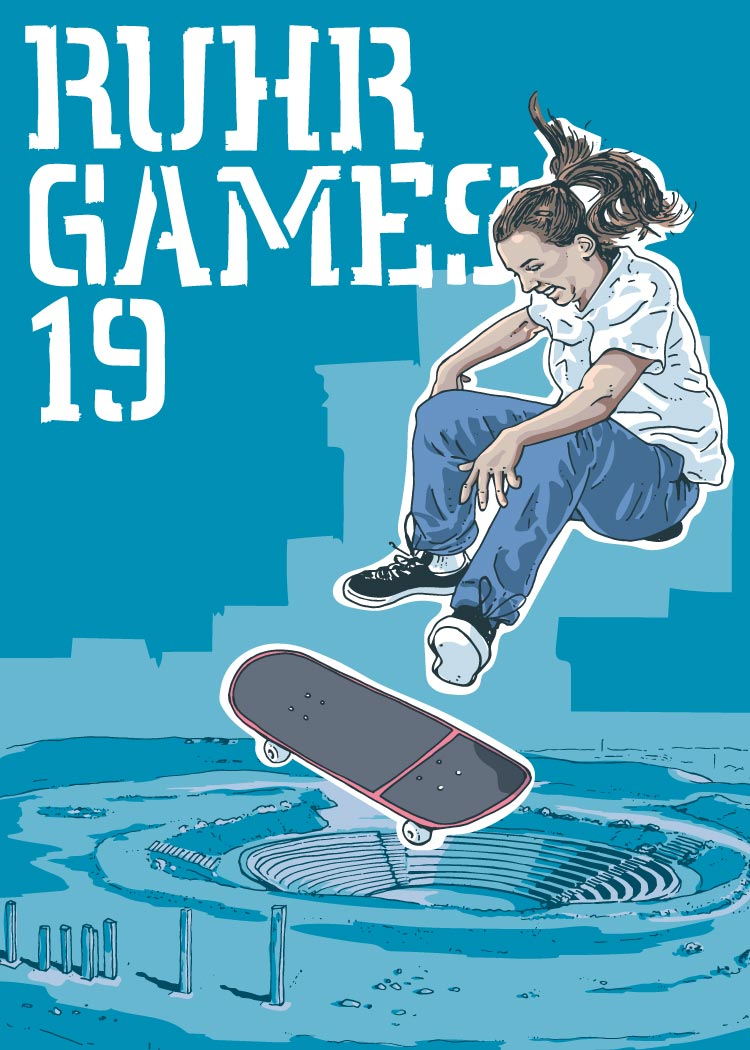 Ruhr Games 19, Skateboarding